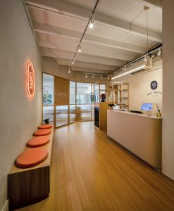 Shan Wong Interior Design Off Duty Pilate Studio