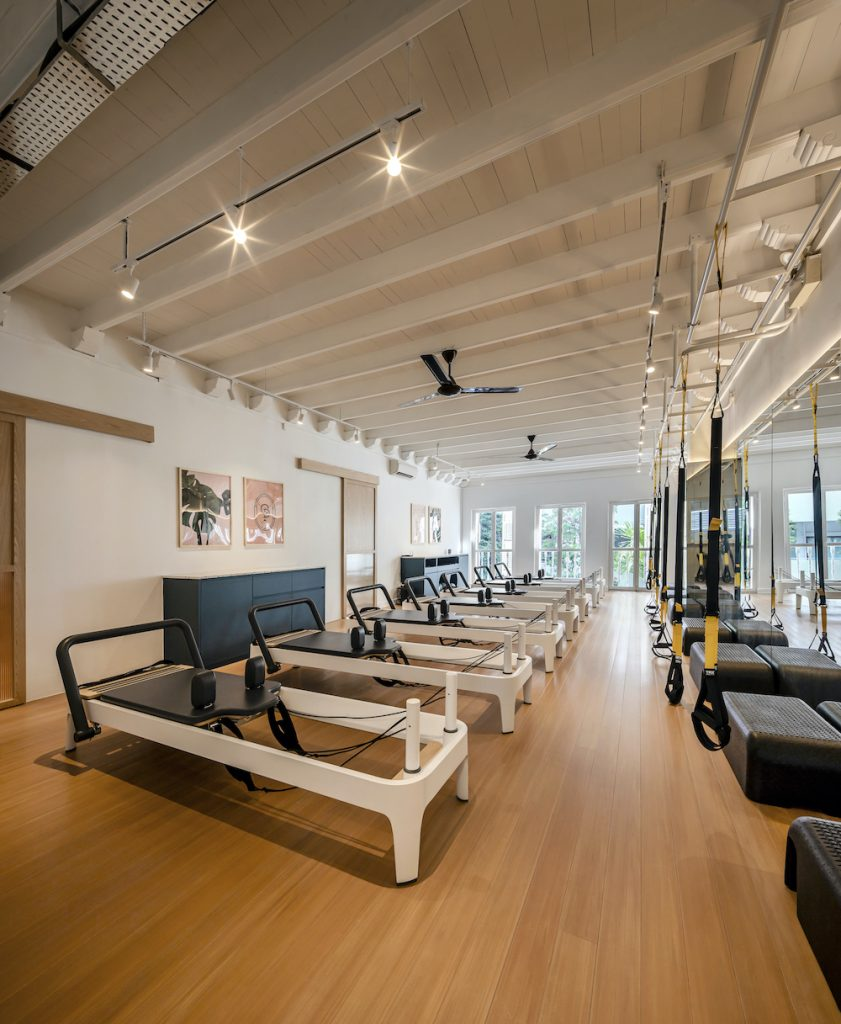 Shan Wong Interior Design - Off-duty Pilates Studio - https://shan.sg